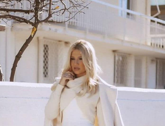 Φαίη Σκορδά: Παραδίδει μαθήματα στιλ! Πως να φορέσεις το λευκό το χειμώνα!