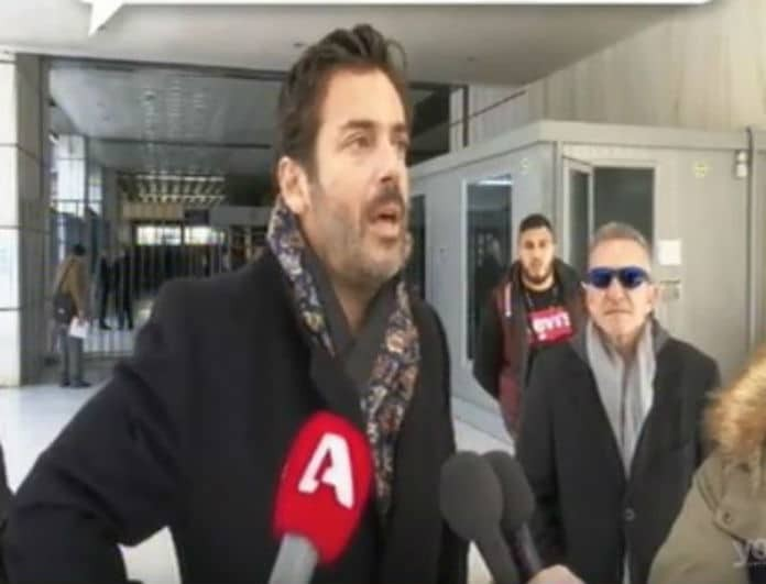 Πάνος Καλλίτσης: Οι πρώτες δηλώσεις μετά την αναβολή της δίκης - «Είναι δύσκολο για εμένα που το ξαναζώ»!
