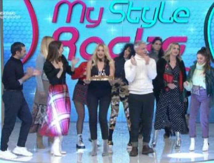 My Style Rocks 2: Χαρές και πανηγύρια στο πλατό! Έσβησαν κεράκια και το έριξαν στο χορό και το φαγητό! (βίντεο)