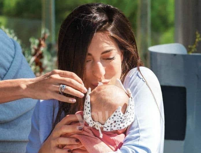 Φλορίντα Πετρουτσέλι: Η κόρη της έχει μεγαλώσει πολύ! Τα τρυφερά παιχνίδια στο σπίτι!