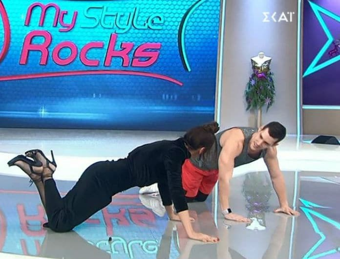 My Style Rocks 2: Απίστευτη Μαγγίρα! Αποδέχτηκε το... challenge του γυμναστή και άρχισε τις γυμναστικές επιδείξεις στο πλατό! (βίντεο)
