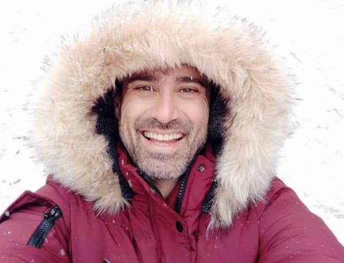 Γιώργος Καπουτζίδης: Περιπέτεια για τον ηθοποιό! Ευτυχώς είχε την καλύτερη παρέα στο πλευρό του...