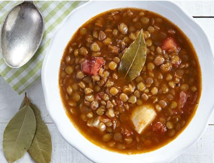 Συνταγή για εύκολες και γρήγορες φακές! Ότι πρέπει για τον κρύο καιρό...