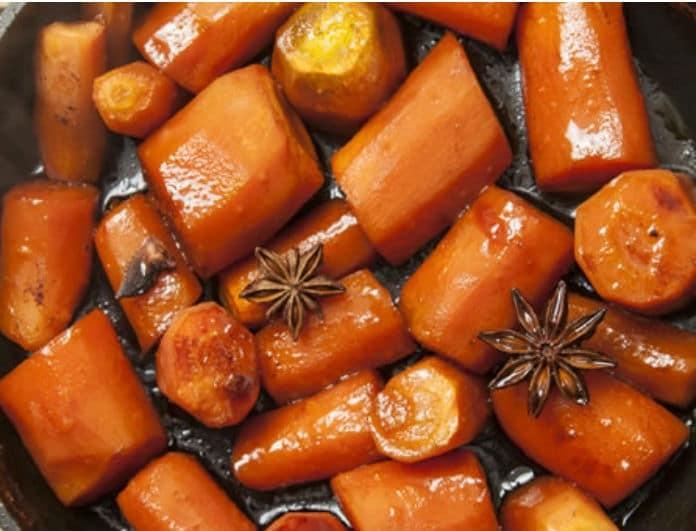 Καραμελωμένα καρότα: Η νόστιμη συνταγή που θα απογειώσει το πιάτο σας!