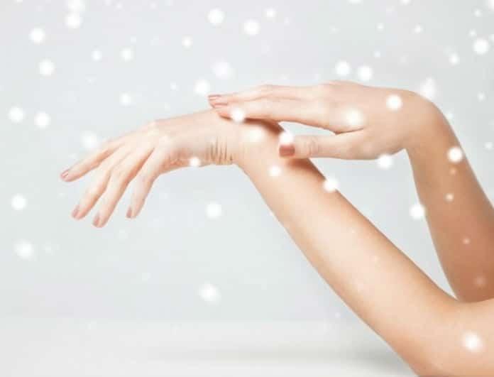 Ξηρό δέρμα τον χειμώνα; Όχι πια! Τα tips για να το αντιμετωπίσεις!