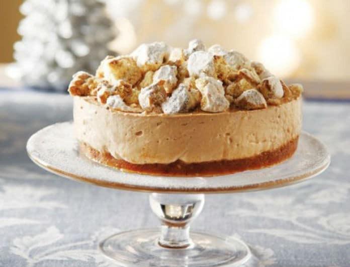 Περίσσεψαν μελομακάρονα; Με αυτό το cheesecake θα τους τρελάνετε όλους, χωρίς να πετάξετε τίποτα!