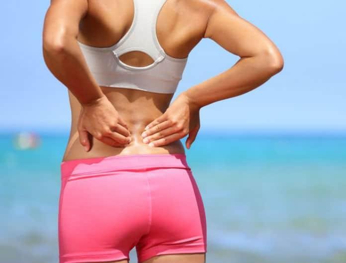 Εύκολες ασκήσεις για να απαλλαγείτε από τον πόνο στην μέση και την πλάτη!