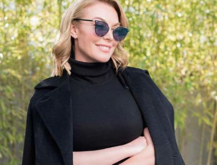 Τατιάνα Στεφανίδου: Έφερε την Άνοιξη μες στο Χειμώνα! Το total red look που λατρέψαμε!