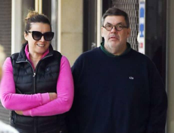 Άννα Δρούζα - Θανάσης Λάλας: Σπάνια δημόσια έξοδος για το ζευγάρι!