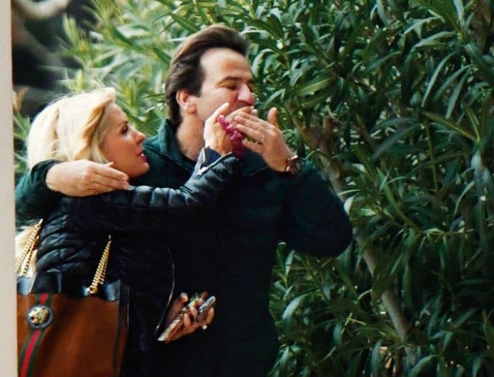 Έλενη Μενεγάκη - Μάκης Παντζόπουλος: Full in love! Τα καυτά φιλιά και οι αγκαλιές στην μέση του δρόμου!