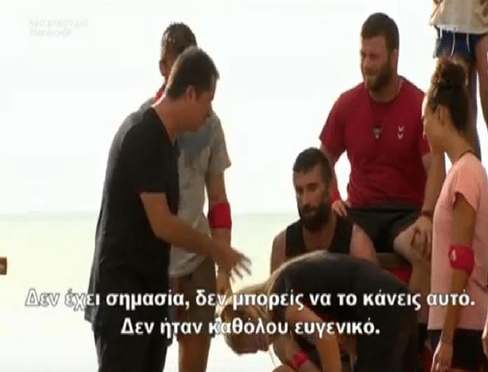 Survivor Ελλάδα Τουρκία: Η κίνηση του Τούρκου παίκτη που έκανε έξαλλο τον Ατζούν! (Video)