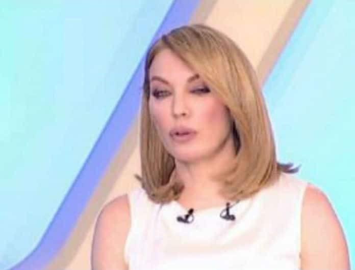 Τατιάνα Στεφανίδου: Φανερά εξαντλημένη στην έναρξη της εκπομπής!(video)
