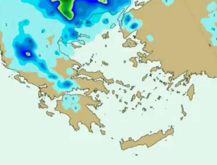 Οι νέοι χάρτες της ΕΜΥ προειδοποιούν! Σε ποιες περιοχές θα χιονίσει;