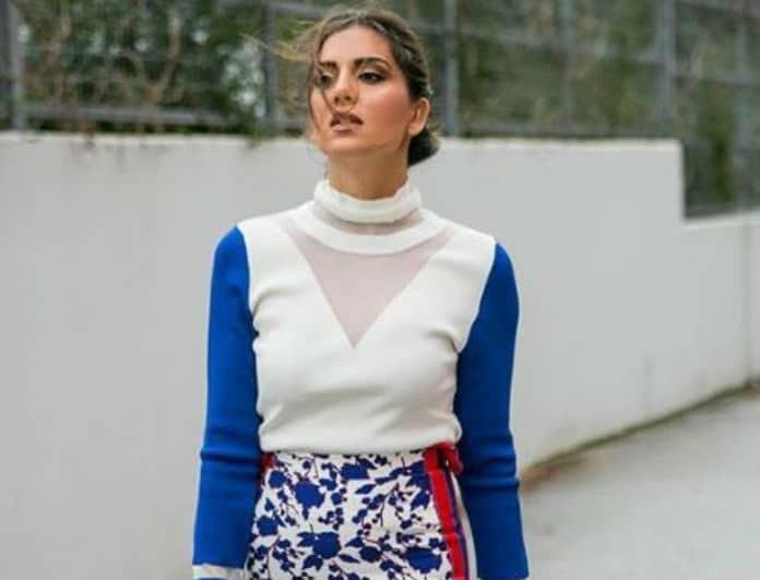Σταματίνα Τσιμτσιλή: Η pencil φούστα που ανέδειξε την καλλίγραμμη σιλουέτα της!