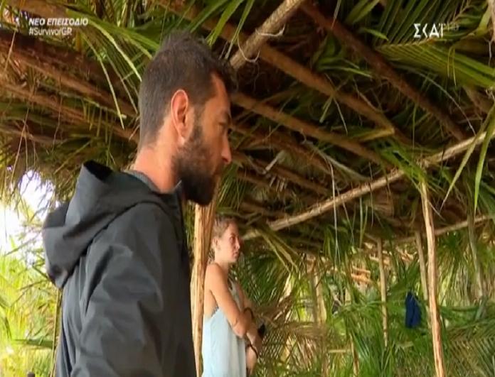 Survivor Ελλάδα Τουρκία: Κατερίνα Δαλάκα και Τόνι «σφάχτηκαν» με το... γάντι για την καλύβα! (Video)