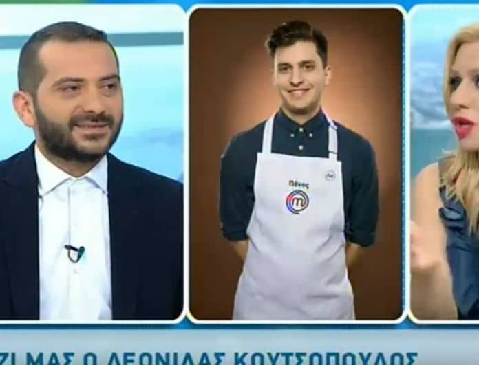 MasterChef: Ειδύλλιο στο παιχνίδι; Ο Λεωνίδας Κουτσόπουλος αποκάλυψε τα πάντα!