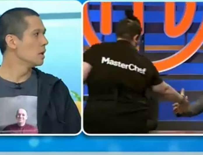 Έξαλλος ο Κοντιζάς με παίκτρια του Master Chef! «Στην κουζίνα μου δεν θα πέρναγε»! (Βίντεο)