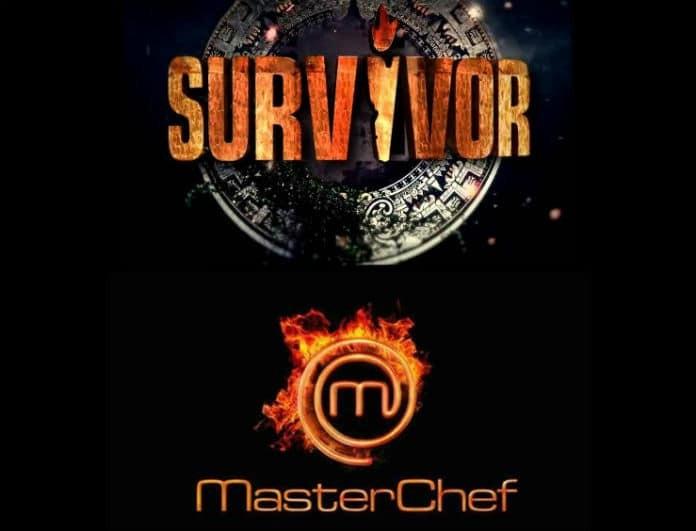 Τηλεθέαση: Survivor, Master Chef,Τατουάζ. Ποιος φτιάχνει κόλυβα;
