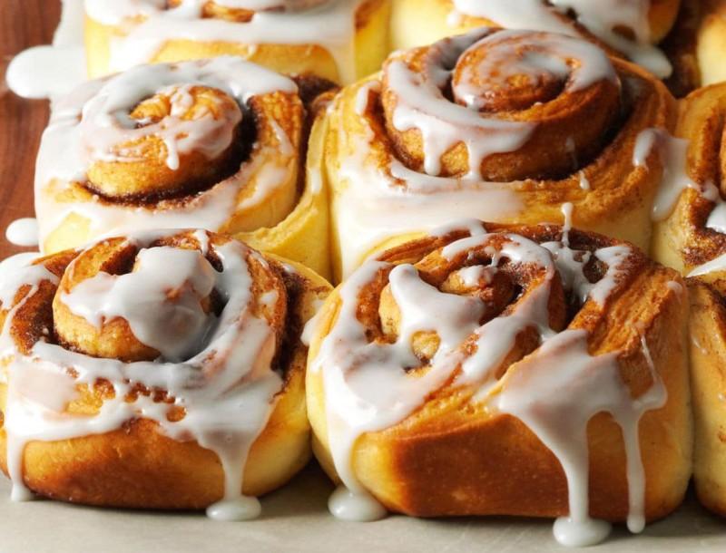 Τα πιο εύκολα Cinnamon rolls! Έτοιμα σε μόλις 20'