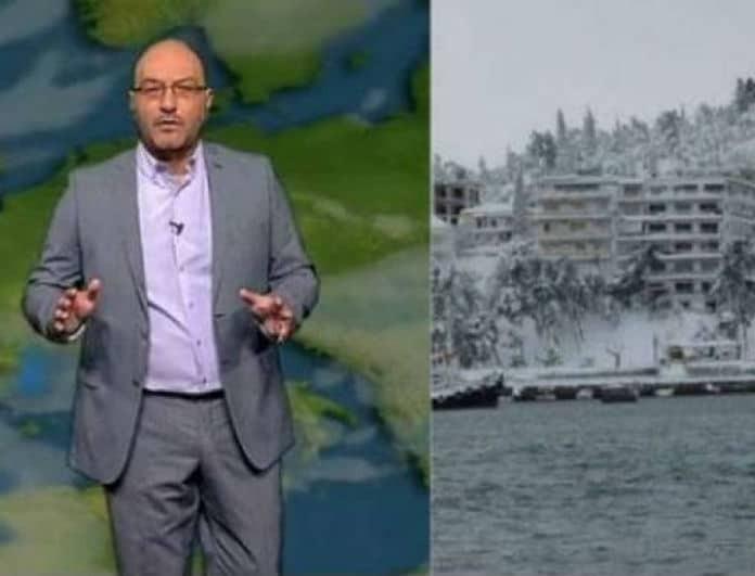 Καιρός: Χιόνια μέχρι και την θάλασσα το Σάββατο! Ο Σάκης Αρναούτογλου προειδοποιεί!