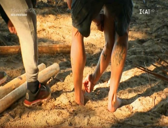 Survivor 3: Ο τραυματισμός του Κυριάκου Πελεκάνου! Τι συνέβη; (Βίντεο)