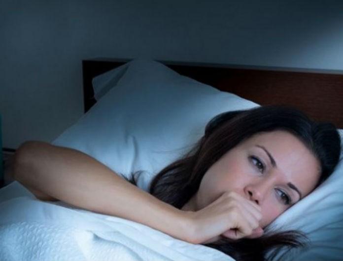 Έχετε χάσει τον ύπνο σας λόγω επίμονου βήχα; Υπάρχει λύση!