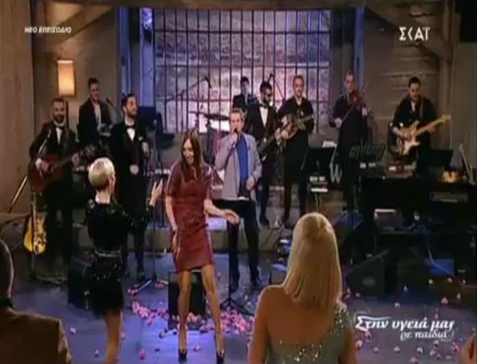 """Μάγκυ Χαραλαμπίδου-Ράνια Κωστάκη: """"Μοίρασαν""""... εγκεφαλικά με τον απίστευτο χορό τους! (Βίντεο)"""