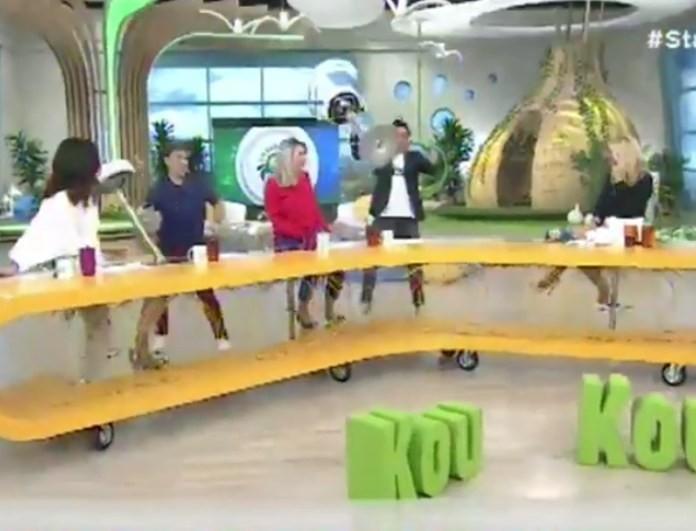 Κρατερός Κατσούλης: Έμεινε εκτός εκπομπής - Η ανακοίνωση της Κατερίνας Καραβάτου! (βίντεο)