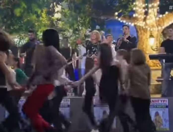 YFSF: Η Μελίνα Μακρή αλά Έφη Θώδη έκανε χαμό στο πλατό! (Βίντεο)