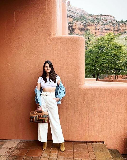 αυτά είναι τα σύνολα που φόρεσε η Ηλιάνα Παπαγεωργίου στο ταξίδι της στην Αριζόνα