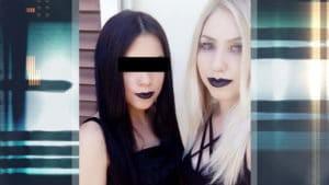 Φωτογραφίες σοκ της 22χρονης Αρετής από το Αιγάλεω από σατανιστικές οργανώσεις