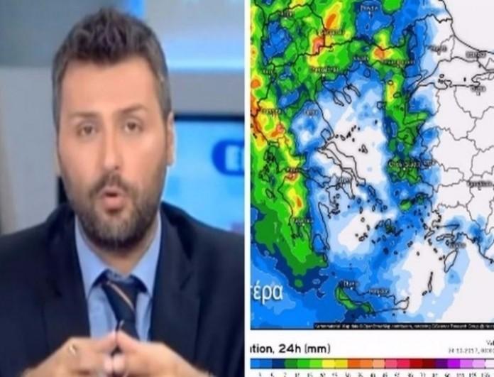 Γιάννης Καλλιάνος: Έρχονται θερμοκρασίες που δεν έχουμε ξαναδεί!