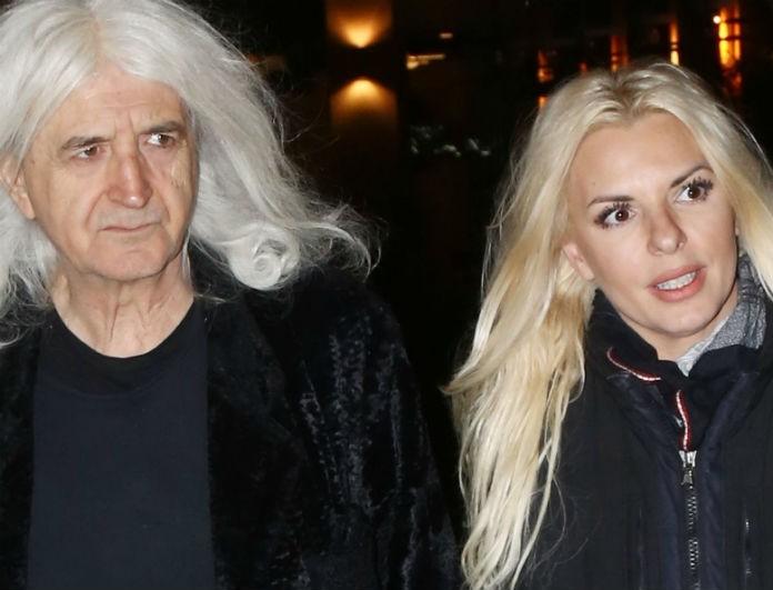 Η Αννίτα Πάνια και ο Νίκος Καρβέλας σε βραδινή έξοδο