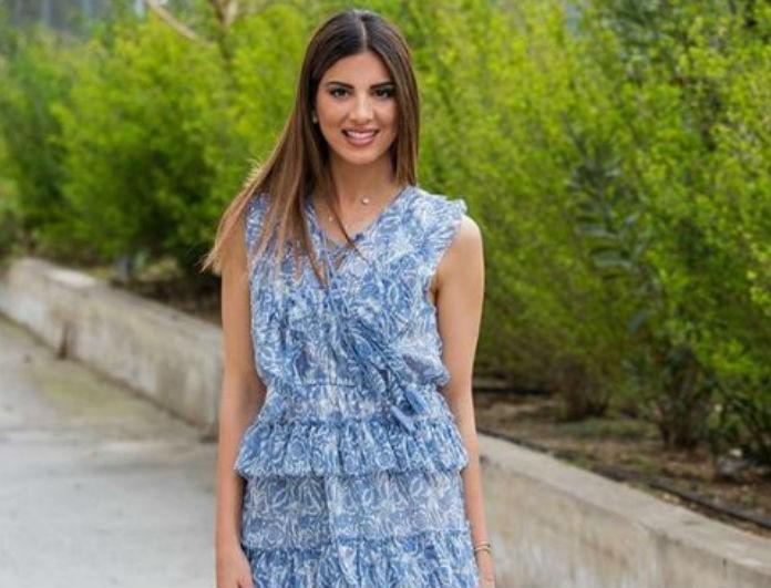 Σταματίνα Τσιμτσιλή: Συνδύασε το girly φόρεμα της με τον πιο ανατρεπτικό τρόπο!
