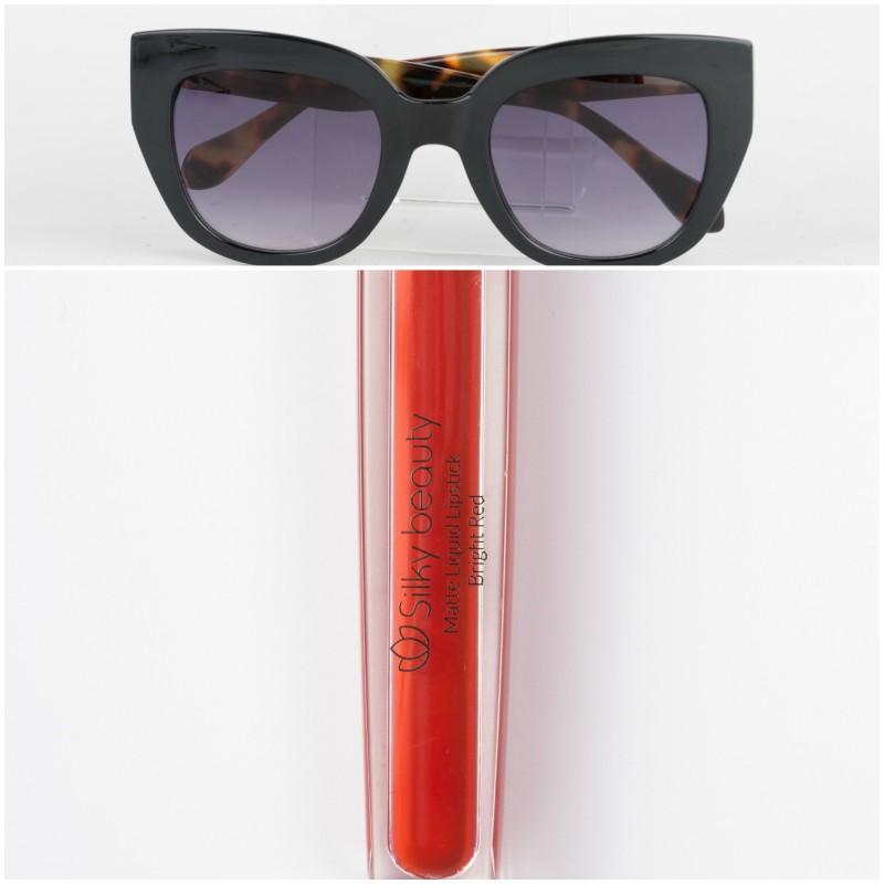 3bea7ad636 Διαγωνισμός  Κερδίστε ένα σετ με γυαλιά ηλίου και ένα κατακόκκινο κραγιόν!
