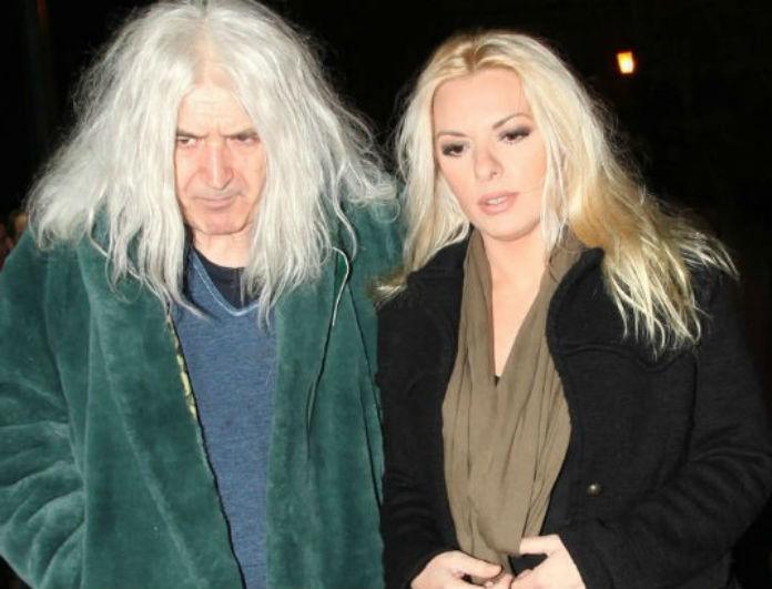 Ο Νίκος Καρβέλας μαζί με την Αννίτα Πάνια
