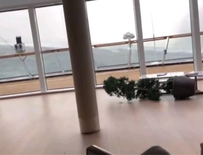 Βίντεο που σοκάρουν μέσα από το ακυβέρνητο κρουαζιερόπλοιο του τρόμου! Πανικός στους επιβάτες!