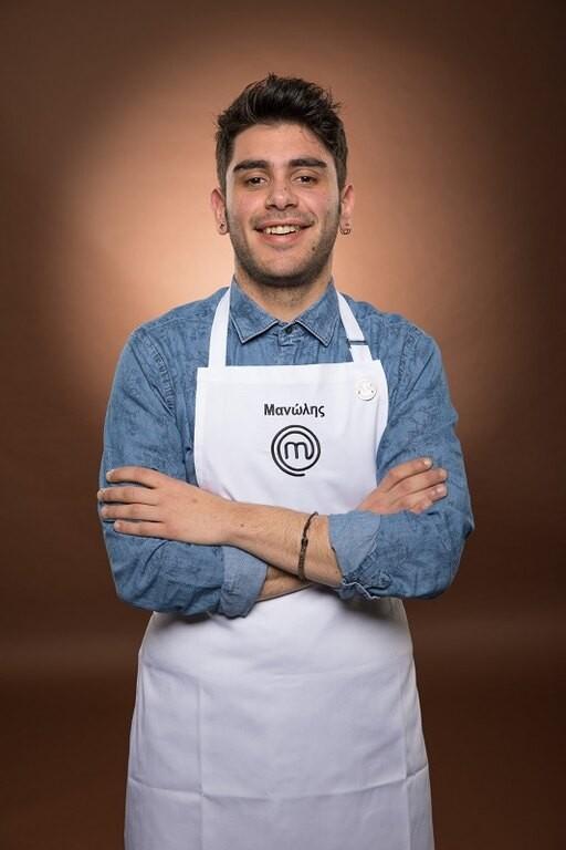 Ο Μανώλης Σαρρής από το Master Chef
