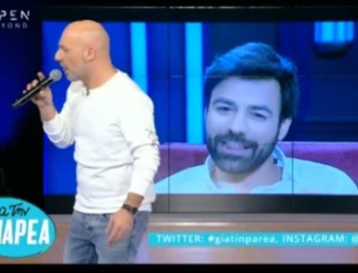 Νίκος Μουτσινάς: Την είπε στον Ανδρέα Γεωργίου! - «Κάνε δοκιμαστικά με τον Ντάνο και άσε μας...» (βίντεο)