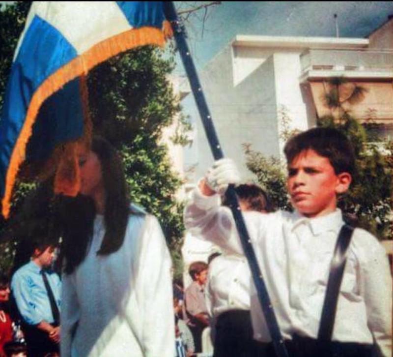 Η μαθητική παρέλαση του Παντελή Παντελίδη