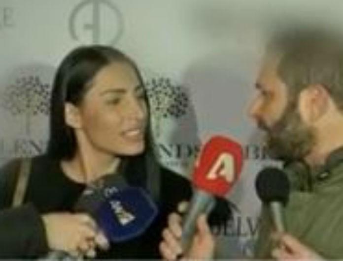Πωλίνα Τριγωνίδου: Η ερώτηση για την σχέση της με τον Μαυρίδη που την έφερε σε αμηχανία! (Βίντεο)