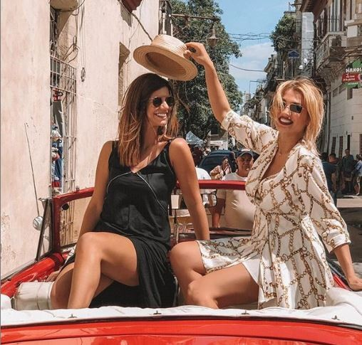 Κωνσταντίνα Σπυροπούλου διακοπές στην Κούβα