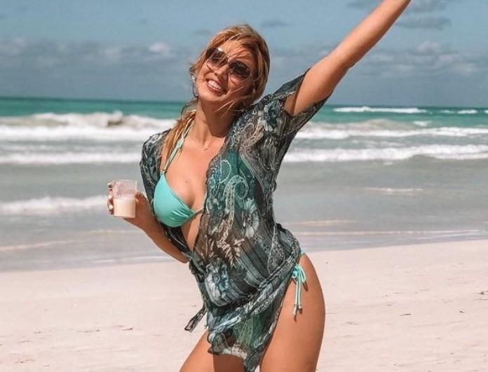 Kωνσταντίνα Σπυροπούλου: Τρελό κράξιμο στο instagram για το photoshop! Τι απάντησε η παρουσιάστρια;