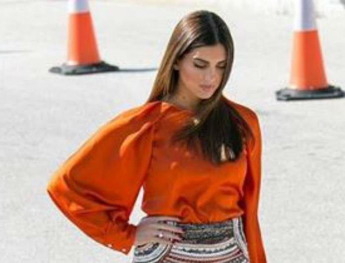 Σταματίνα Τσιμτσιλή: H mini στενή φούστα από τα Zara που «έκλεψε» τις εντυπώσεις!