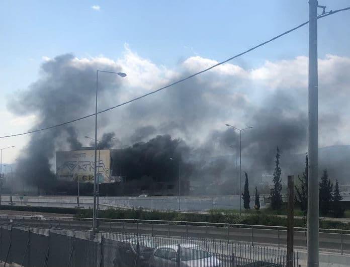 Έκτακτο: Μεγάλη φωτιά τώρα στην Μεταμόρφωση!