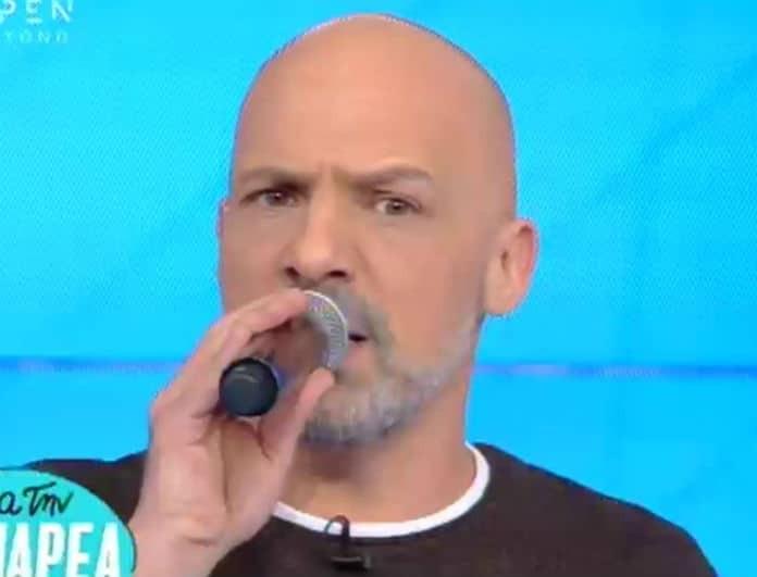 Νίκος Μουτσινάς: Χαμός στο πλατό της εκπομπής του! Έκανε ντου η...