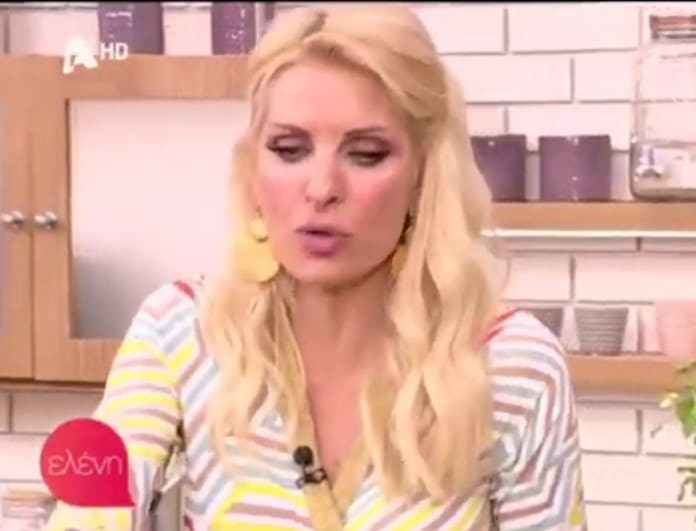 47dbac83642 Ελένη Μενεγάκη: Το μεγάλο πρόβλημα που τη βασανίζει στο σπίτι της ...