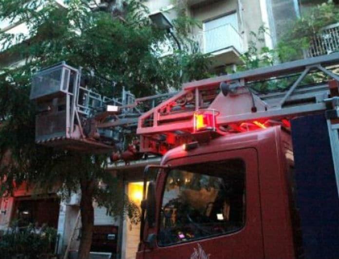 Θεσσαλονίκη: Ξέσπασε πυρκαγιά σε διαμέρισμα!
