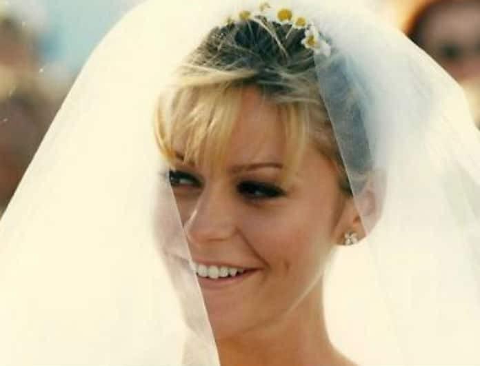 Τζένη Μπαλατσινού - Flashback: Το ονειρικό νυφικό που είχε φορέσει στον γάμο της με τον Κωστόπουλο στη Μύκονο!