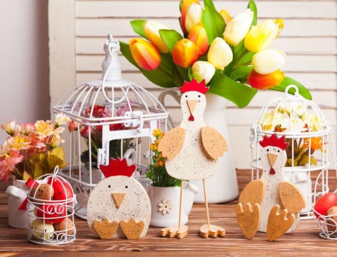 Εντυπωσιακές και οικονομικές ιδέες για να διακοσμήσετε το πασχαλινό τραπέζι!